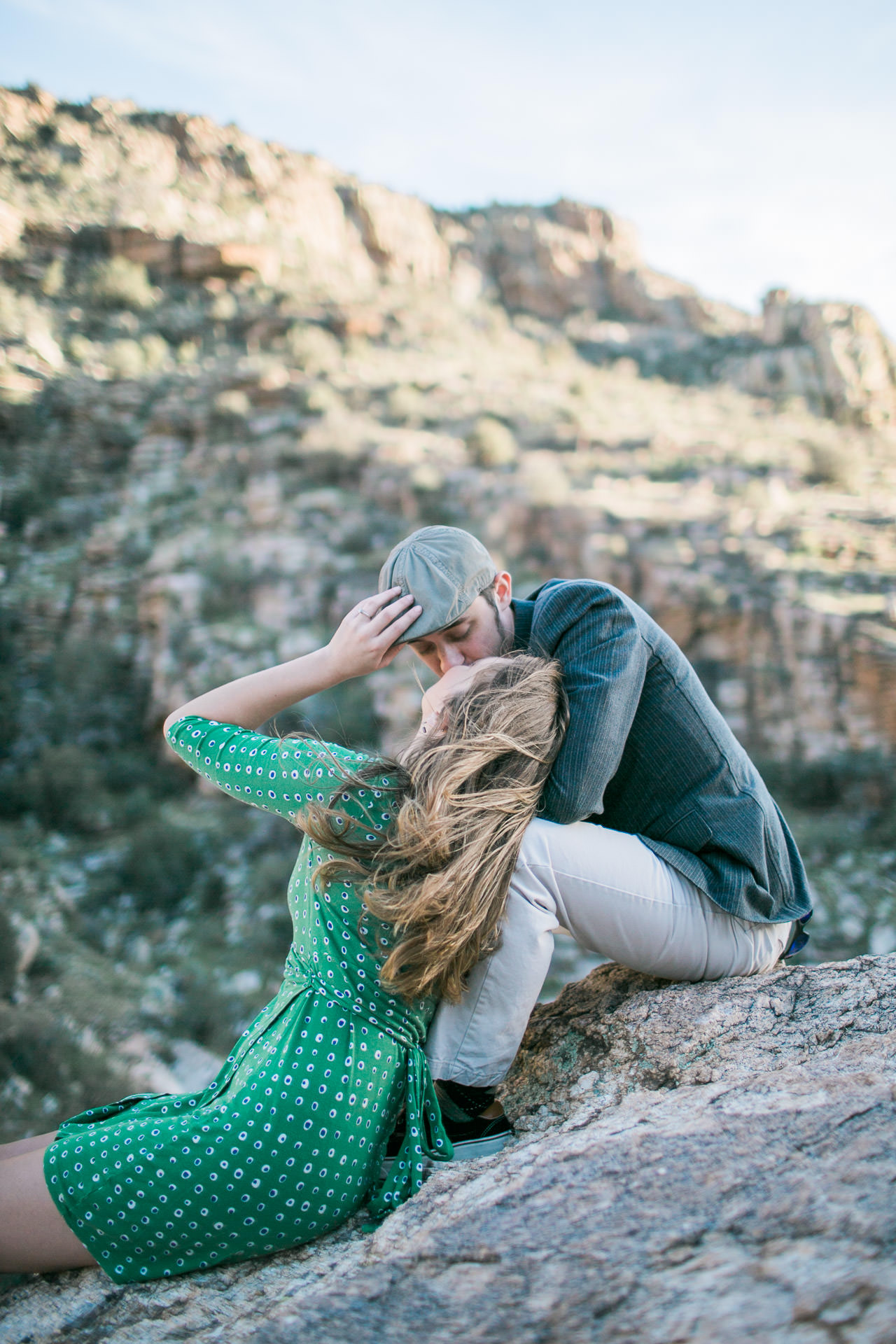 Tucson Engagement Session in Mountain