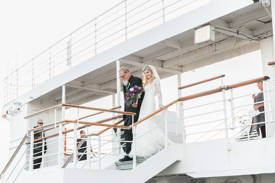 Queenmarry Bride and Father