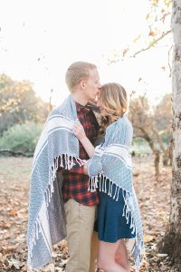rancho santa ana botanic garden engagement session