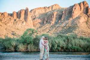 Saguaro Lake Engagement Session