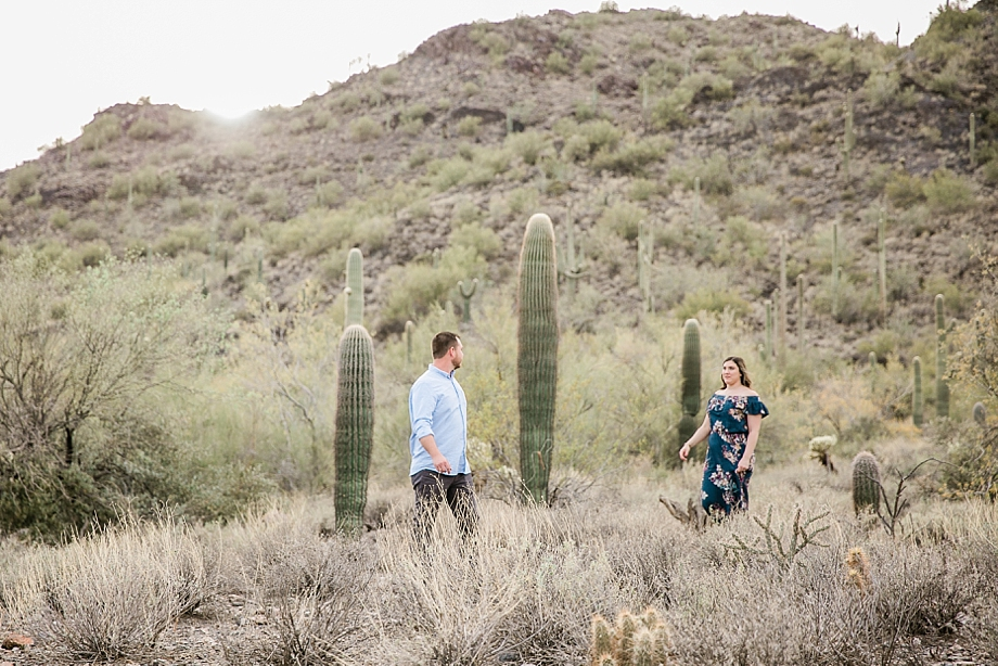 Derek + Gina | Engagement Session | Cave Creek, AZ