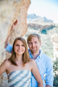 Boyce Thompson Arboretum Engagement Session
