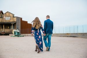 goldfield ghost town engagement session