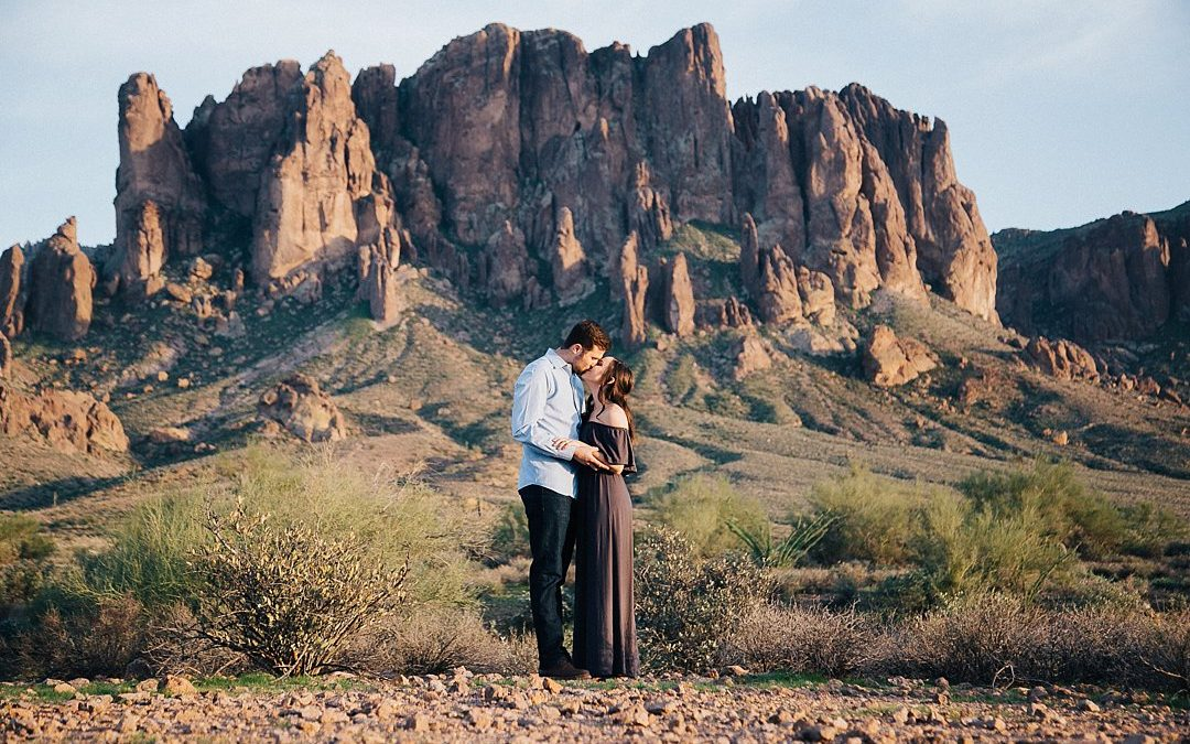 Superstition Mountain Engagement Session