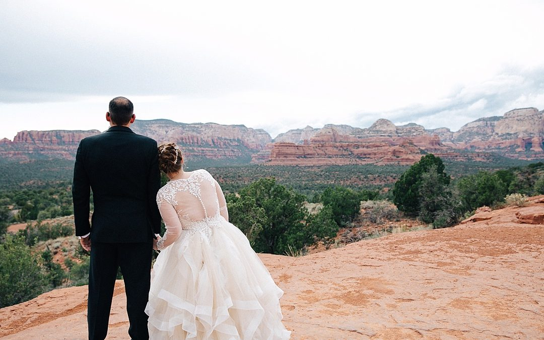 Chapel Of The Holy Cross Sedona Wedding