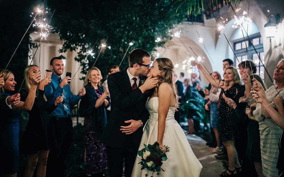 secret garden winter wedding