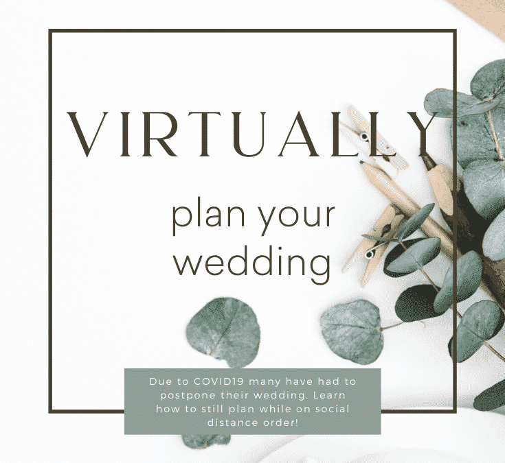how to virtually plan your wedding with every vendor
